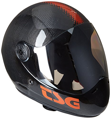 2b6f2fab4a2b4 TSG Helm Pass Carbon Solid Color – Casco de ciclismo BMX integral ...